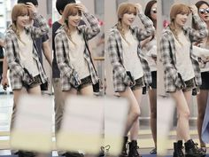 Taylor Swift + Anna = Taeyeon // pretty and simple Airport fashion