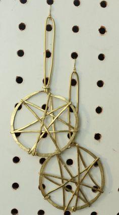 "onethirdtribalmercantile — ""Infinity meets Dreamcatcher"" Earrings by Ambiguous Jewelry"