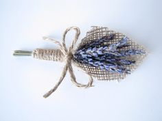 Dried Lavender Boutonniere Lavender by TheBackyardGardener on Etsy, $9.00