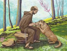 St. Francis and the Wolf - Myths & Legends