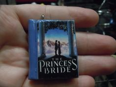 Princess Bride inspired Book Necklace Polymer Clay by laminartz