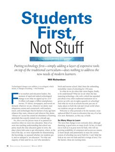 Educational Leadership - March 2013 - Page 10