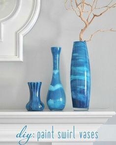 Обратите внимание на вазы разнообразных холодных оттенков синего цвета, как будто созданные умелыми руками мастера из камней каких-то сказочных горных пород. На самом же деле секрет состоит в особом способе …