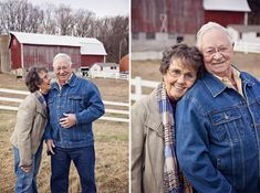 If I get to take 55th wedding anniversary pictures with someone who still makes me laugh, I'll be happy.
