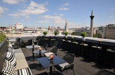 """""""These chic rooftops are taking European cities' nightlife to new heights."""" Stop by one of these 10 best hotel rooftop #bars in #Europe!"""