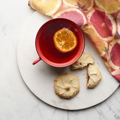 Time for tea, cookies and citrus.   Photo by Renée Comet: http://cometphoto.com