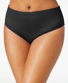 Becca Etc Plus Size High-Waist Bikini Bottom