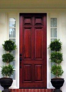 Love the front door color