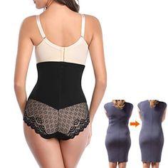 89ca65e55aa High Waist Tummy Control Panties for Women Waist Cincher Trainer Butt  Lifter Briefs Slimming Underwear Shapewear