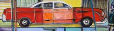José Gonçalves •Carrinho I [Toy Car I]•10 X 35.5 •Multilayered Mixed Media Canvas // 408.888.1500 //jcos.hello@gmail for acquisition info
