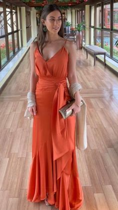 Long V-Neck Prom Dresses Formal Evening Gowns 6011122 Evening Dresses, Prom Dresses, Formal Dresses, Formal Prom, Casual Dresses, Graduation Dresses, Outfit Trends, Mode Style, Look Fashion
