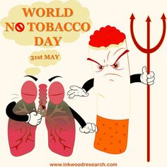World No Tobacco Day (WNTD) is observed around the world on May It is celebrated to encourage people to say no to tobacco and smoking. International Days, World No Tobacco Day, Smoking, Encouragement, Around The Worlds, People, People Illustration, Tobacco Smoking, Vaping