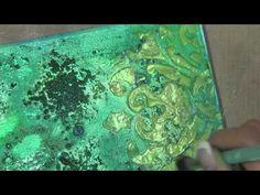 Mixed Media Canvas/Good art supplies Mixed Media Techniques, Mixed Media Tutorials, Art Journal Techniques, Art Tutorials, Mixed Media Artwork, Mixed Media Collage, Mixed Media Canvas, Mix Media, Altered Canvas