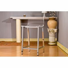Pure Decor Acrylic Counter Stool - Click to enlarge