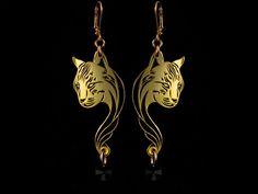 Lynx earings