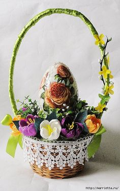 Beautiful ideas by Easter - красивые идеи к пасхе (13) (441x700, 286Kb)