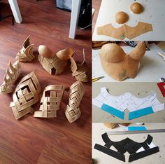 Guild Wars 2 Stag armor cosplay progress masterpost :D Thought it'd be cool to share some work so far! Materials are foam and Worbla by Minque. It's really cool to be building an armor instead of...