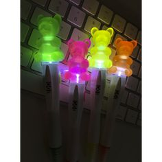 Shop GEDDES for hundreds of fun and affordable school supplies including the Scented Gummy Bear Light-Up Highlighter. School Fun, School Stuff, School Supply Store, Highlighters, Gummy Bears, Keychains, School Supplies, Lava Lamp, Light Up