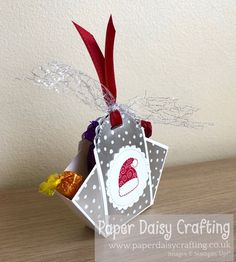 Paper Daisy Crafting: InspireInk September Blog Hop - 3D project