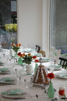 Konfirmasjon - tablesetting