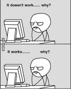 My struggles when I'm programming