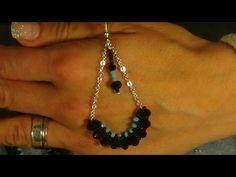 tutorial con cipollotti e perline facile facile - YouTube