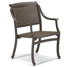 BelMar Woven Dining Chair From Tropitone Outdoor Patio Furniture