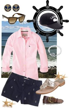"""""""Weekend on the Coast"""" by mpproductions ❤ liked on Polyvore"""