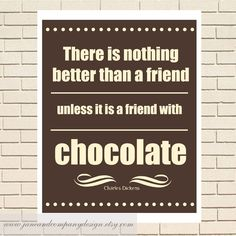 chocolate art | Friend with Chocolate, Charles Dickens, Literary Art for the Chocolate ...