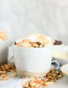 homemade coconut latte I howsweeteats.com