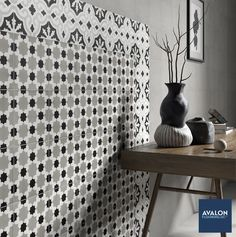 You don't have to only choose one tile pattern, mix it up!