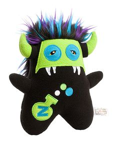 Look at this #zulilyfind! Beasty Buddies Black Zeppelin Monster Plush by Beasty Buddies #zulilyfinds