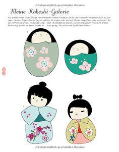 Kokeshi-Kult: Kleine Geschenke sticken, nähen, kleben und falzen: Amazon.de: Adeline Klam: Bücher