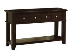 Amazon.com: Poundex St. Croix Console Table: Home & Kitchen