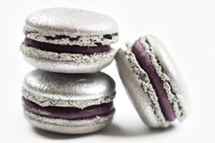 Christmas Blueberry Macarons - DeToni Patisserie and Bakery Macarons