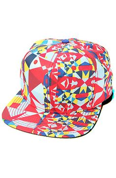 Snapback Fashion Blog Crooks and Castles Men's The Regalia Rouge Snapback in Red Multi