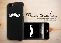 Mustache Case designed for Apple iPhone 5 #Mustache #appleiphonecase #iphone5case #DesignerCase #UltraCase