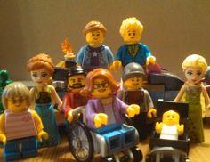 2016 Lego family trip was a success.  Everyone enjoyed finally meeting Anna and Elsa.  #2016legofamilywdwtrip.  #legostagram #lego #disney #wdw #disneylego #waltdisneyworld #afol by markpalmer94