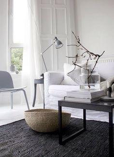 stunning Scandinavian French mix interior style