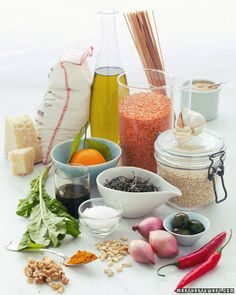 Stock your cupboards with these natural staples, wholeliving.com