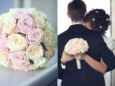 букет невесты из роз #wedding #winter