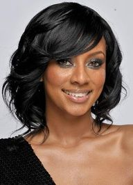 Black Women Hairstyles Pictures (Drape the front, color the bang)