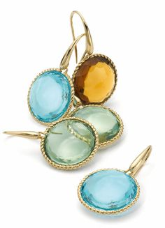 Roberto Coin Ipanema Earrings • Colorful, Fashionable and Perfect for Summer Style!