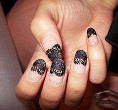 Love this lace tip!