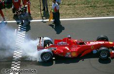 Michael Schumacher's Ferrari, 2000