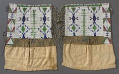 Woman's legging (one of a pair) Sioux ca. late 1880s