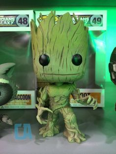 Guardians of the Galaxy Pop Vinyl Groot..... I want one!!!!!