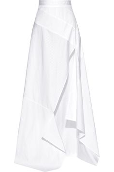 Michael Lo Sordo | Split striped cotton-poplin maxi skirt | NET-A-PORTER.COM