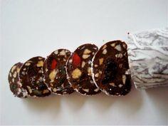 Saucisson en chocolat.