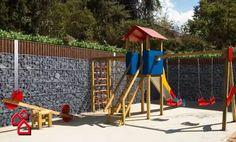 Muro para jardim ou contenção de encostas